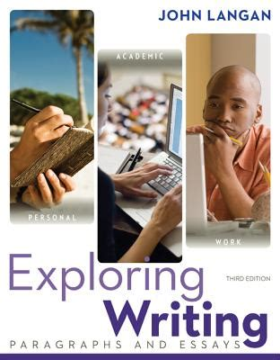 Exploring Writing Paragraphs And Essays 2nd Edition by Exploring Writing Paragraphs And Essays Book By Langan 6 Available Editions Alibris Uk