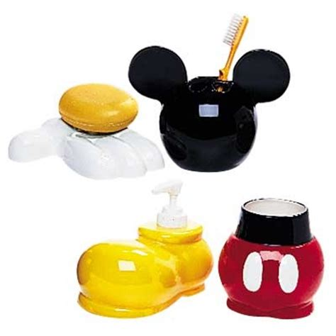 mickey minnie bathroom set mickey mouse bathroom sets 28 images dining serving