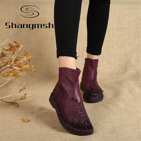 Aliexpress Buy Handmade Ankle Boots - aliexpress buy new arrival fish ankle boots for