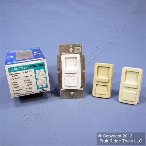 dimmer switch for fluorescent lights leviton white ivory almond fluorescent light dimmer switch