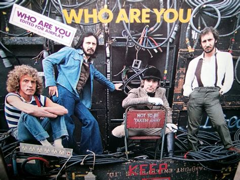 Who I Am With You the who who are you promo for radio edit