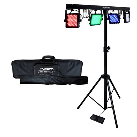 portable lights kam led partybar v2 portable lighting package at