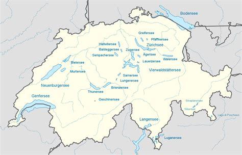 welche bank in der schweiz datei switzerland largest lakes svg schweiz wiki