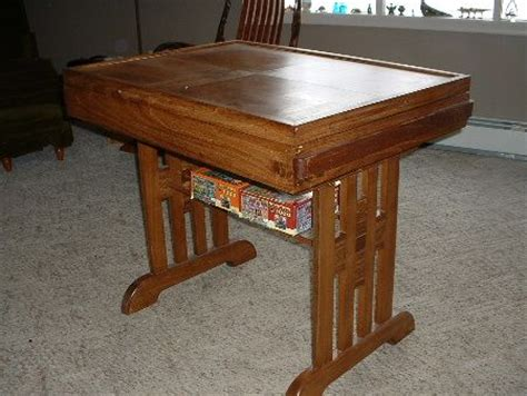 jigsaw puzzle table with drawers plans puzzle table closed up drawers slide into side to hold