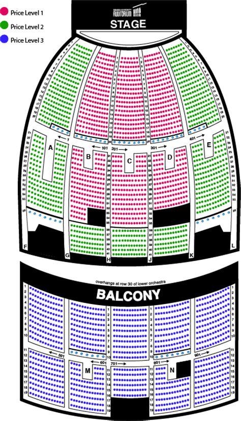 university auditorium plan seating chart indiana university auditorium