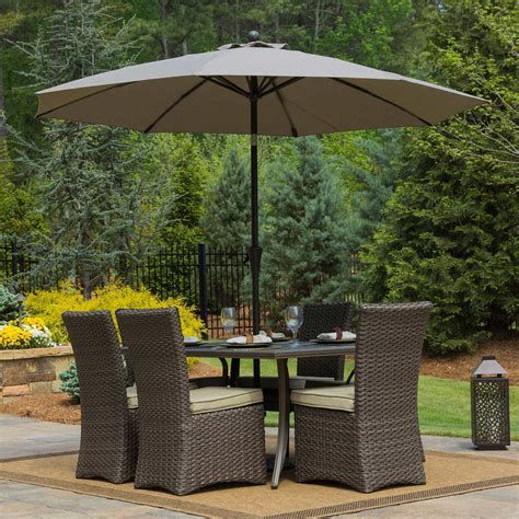 Patio Table Parasol Patio Umbrella Oval Modern Patio Outdoor
