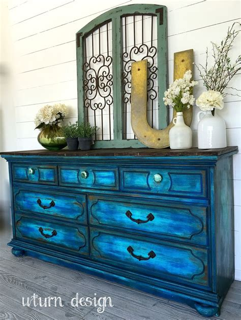 25 best ideas about turquoise dresser on teal