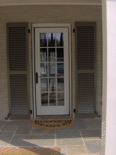 Door Shutters Exterior Exterior Shutters Carolina Blind Shutter Inc