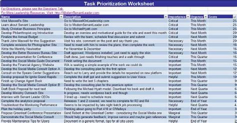 prioritizing tasks template task prioritization and time management maxwell
