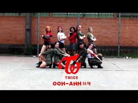 tutorial dance twice ooh ahh twice 트와이스 like ooh ahh dance cover by sparkle youtube
