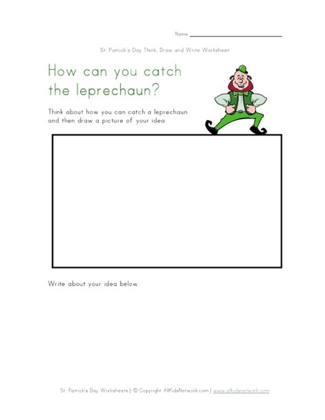 Day And Worksheets by St S Day Writing Worksheet
