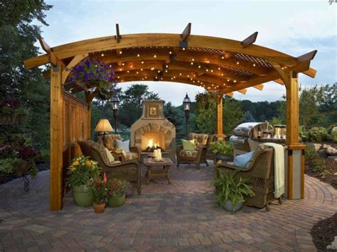 garten veranda pergolas jardin de madera una zona de recreo ideal