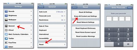 iphone factory reset iphone iphone factory reset