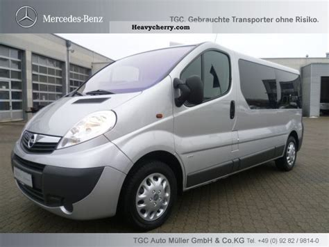 opel vivaro 2007 opel vivaro combi 2007 estate minibus up to 9 seats