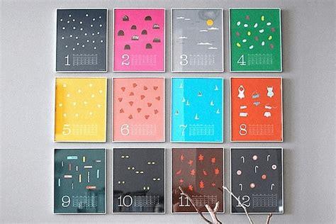 Fotos Calendario Original 9 Ideas Para El Dise 241 O De Calendarios Originales En 2018