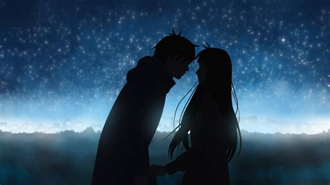 wallpaper anime couple hd anime couple wallpaper collection for free download