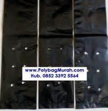 Polybag Besar Hitam Ukuran 35cm pengertian fungsi dan ukuran polybag jual plastik untuk