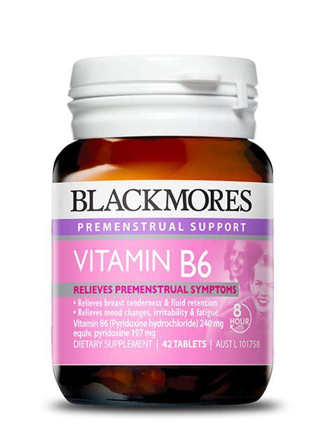 Vitamin Blackmores Malaysia Blackmores Vitamin B6 For Relief Of Premenstrual Symptoms