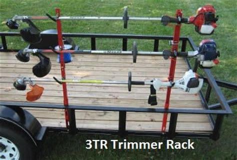 How To Make A Eater Rack by 3tr Holds And Locks 3 Trimmers To Open Or Enclosed