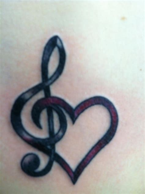 heart with music notes tattoo designs 10 most beautiful designs for lovely pretty