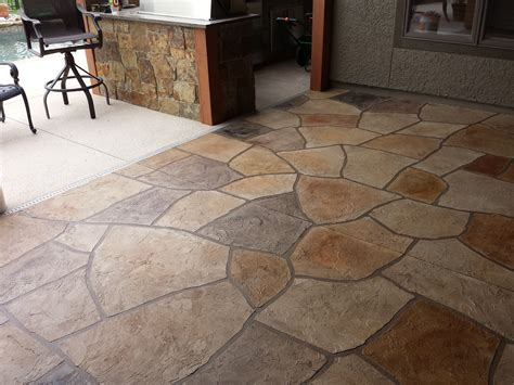 concrete patio resurfacing decorative concrete sted patio services