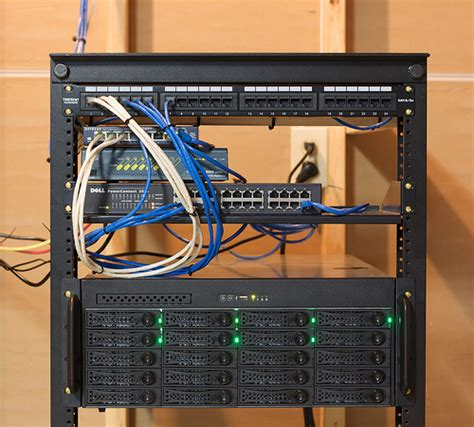 home network rack design rack with file server flickr photo sharing