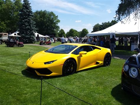 Canary Yellow Lamborghini Pics The Best Cars From The Swanky Car Show Concours D