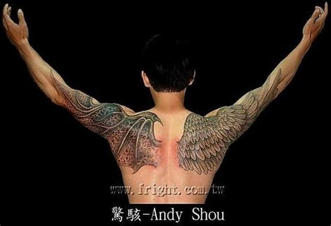 tattoo wings angel devil 1000 images about wings tattoo on pinterest wing