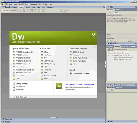 dreamweaver cs5 templates adobe dreamweaver cs3 slide 3 slideshow from pcmag