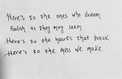 emma stone the fools who dream lyrics 33 famous la la land movie quotes quotes and humor