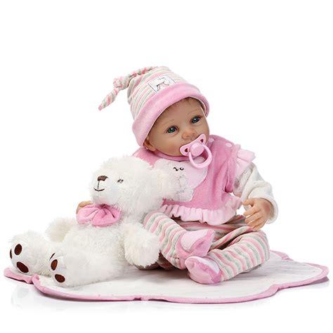 dolls house bath 22inch handmade lifelike reborn baby doll silicone baby play house bath toy alex nld
