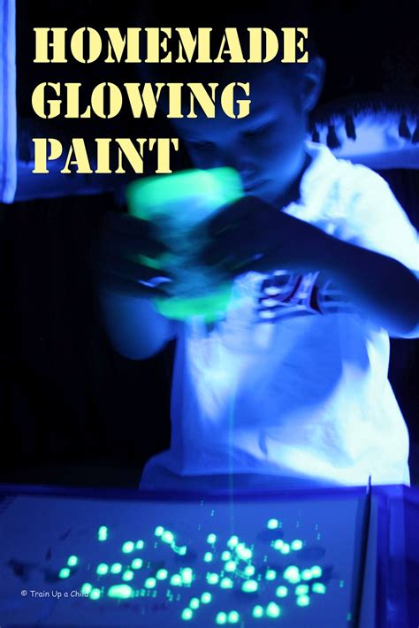 glow in the paint is it safe glowing paint learn play imagine