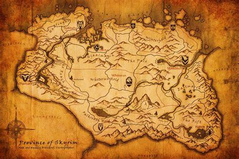 map of skyrim sam s goty 2016 the elder scrolls v skyrim special edition ps4 attitude