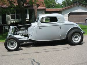 Ford Coupe For Sale 1934 Ford 3 Window Coupe School Rod Original Henry