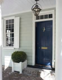 navy blue door this color lacquered life church street front door