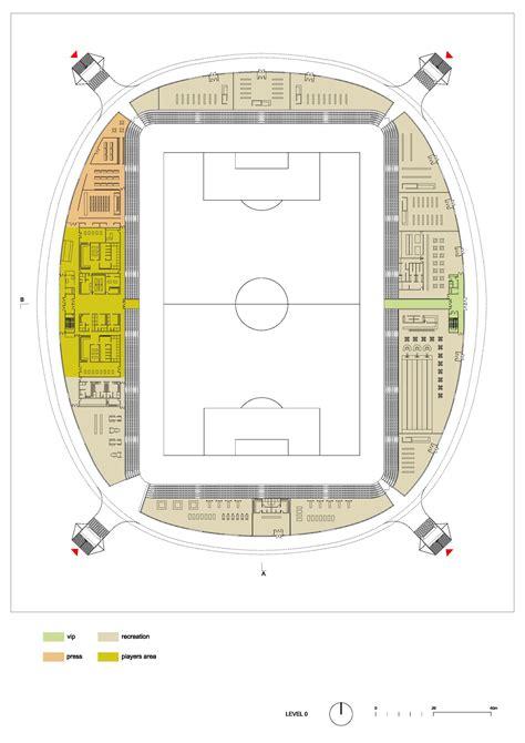 Football Stadium Floor Plan by Gallery Of In Progress Fc Bate Borisov Football Stadium