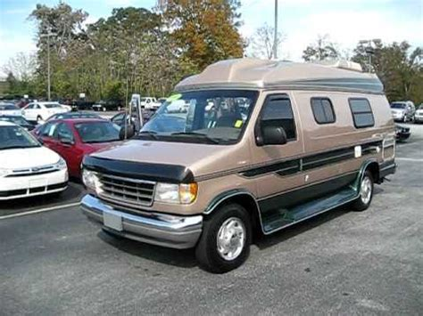 conversion vans with bathrooms 1996 conversion van only 60 000 miles tv bathroom generator youtube
