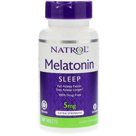 Natrol Melatonin Tr 5 Mg 100 Caps natrol melatonin time release 5 mg 100 tablets melatonin 5 mg tablets