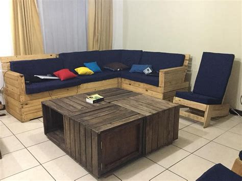 Square Arm Sofa Diy Pallet Furniture Ideas To Improve Your Cozy Home