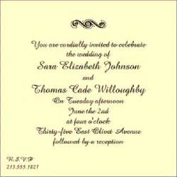 wedding invitation wording sles wedding inspiration