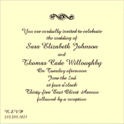 wedding etiquette invitations wording wedding invitation wording sles wedding inspiration