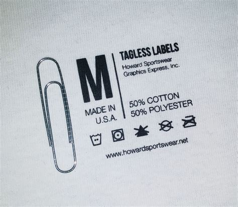 Aufkleber Kleidung by Custom Tagless Labels Howard Multi Purpose Heat