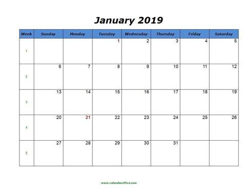 printable calendar month word printable
