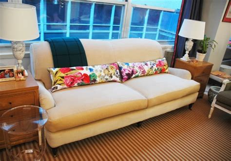 long couch pillows 28 ways to bring new life to an old sofa remodelaholic