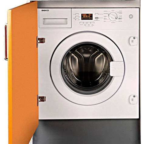 beko wmi61241 6 5kg 1200 spin built in washing machine