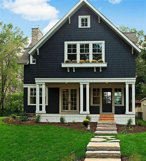 blue craftsman house best 25 exterior paint colors ideas on pinterest