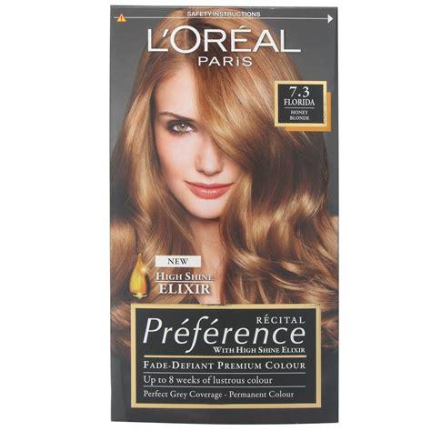 loreal honey blonde hair colour l oreal recital preference 7 3 florida honey blonde ebay