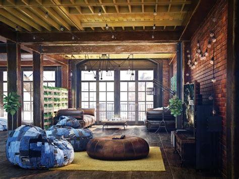 40 lofts qui vont vous rendre dingue de jalousie   Deco