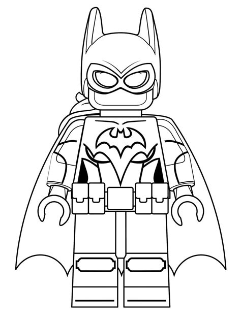 Galerry coloring pages lego batman
