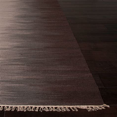 10 X 10 Wool Flatweave Rugs by Flatweave Abstract Spectra Area Rug Gray Brown 8 L X